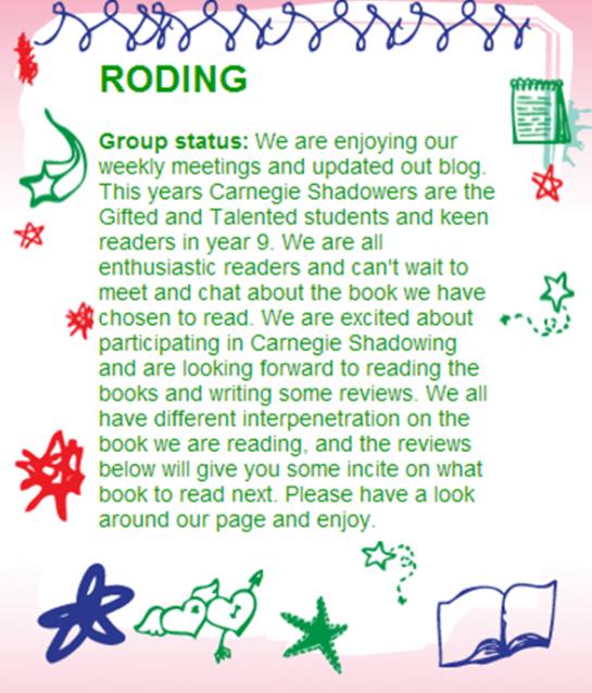 RVHS Reading Scheme