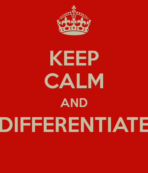 Sip Differentiation - Lessons - Tes Teach